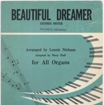 Image of Sheet music: Beautiful Dreamer by Stephen Foster. - Music, Sheet