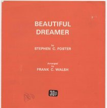 "Image of Sheet music: ""Beautiful Dreamer."" Written and composed by Stephen C. Foster. - Music, sheet"