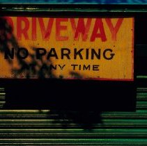 Image of 15 driveway no parking sign