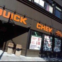 Image of Color slide of Quick Chek, 222 Washington St., Hoboken, September, 1984. - Transparency, Slide