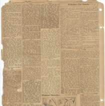 Image of leaf 55 back: newsclippings 1926, 1928, 1930