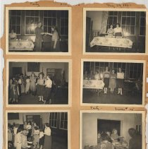 Image of leaf 08 front: 8 photos, party 1950