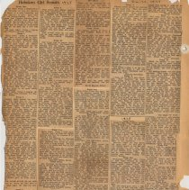 Image of leaf 10 back: newsclippings 1928