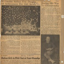 Image of leaf 01 back; newsclippings July 1962