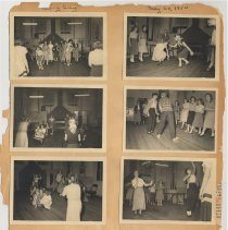 Image of leaf 13 front: 8 photos, Spring or Swing Song, May 1950