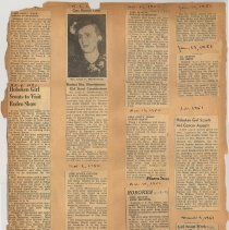 Image of leaf 14 back: newsclippings 1950