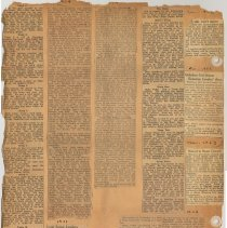 Image of leaf 16 back: newsclippings 1924, 1953, 1954