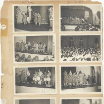 Image of leaf 21 front: 8 photos rally 1950