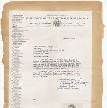 Image of leaf 22 back: letter 1951