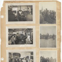 Image of leaf 27 front: 7 photos brownies bronx zoo bus 1951; outdoor sports no date
