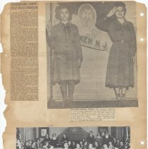 Image of leaf 32 back: newsclippings, 1921, 1930, 1962