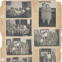 Image of leaf 33 front: 7 photos troop 5, 1942