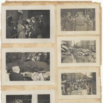 Image of leaf 34 front: 7 photos brownies bronx zoo 1951; memorial day parade 1951