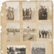 Image of leaf 40 front: 8 photos sports field, Stevens Institute circa 1920s