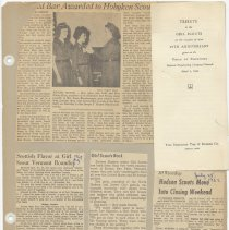 Image of leaf 42 front: newsclippings 1962; document 1941