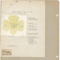 Image of leaf 42 back: documents, 1939, 1962