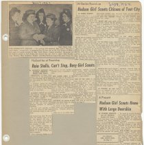 Image of leaf 43 front: newsclippings 1962