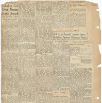 Image of leaf 45 back: newsclippings 1953, 1954