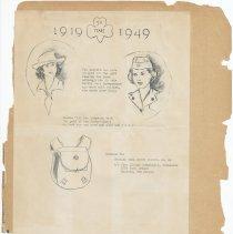 Image of leaf 46 back: documents, 1949
