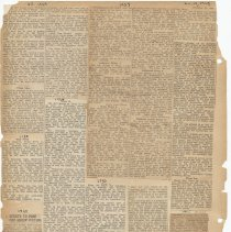Image of leaf 48 back: newsclippings 1918, 1920, 1921, 1927, 1929, 1930