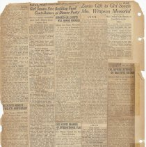 Image of leaf 50 back: newsclippings 1924, 1930, 1938