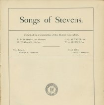 Image of Songs of Steven - Book, song