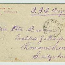 Image of envelope front