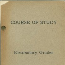 Image of Course of Study in Language and Literature for the Kindergarten and Elementary Grades - Booklet