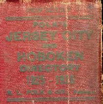 Image of Polk's 1925-26 Jersey City and Hoboken Directory - Directory, City