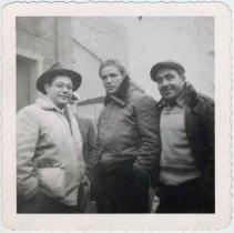 Image of Marlon Brando (center)