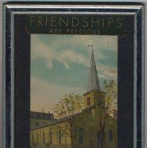 Image of Postcard: German Lutheran Church, 6th & Garden Sts, Hoboken. - Postcard