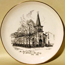 Image of plate: The Reformed Church, Hoboken, 1956