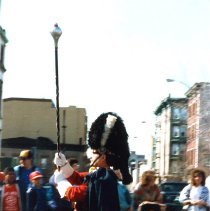 Image of Color photo of the St. Patrick's Day Parade, Hoboken, 1987(?). - Print, Photographic