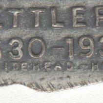 Image of detail reverse maker's mark
