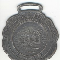 Image of Hoboken Tercentenary medal celebrating the 300th anniversary of the purchase of Hoboken (Hopaghan Hackingh) from the Indians, 1930. - Medal, Commemorative