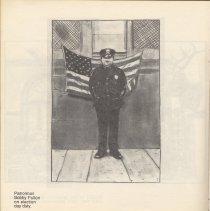 Image of pg 24 Patrolman Bobby Fulton on election day duty