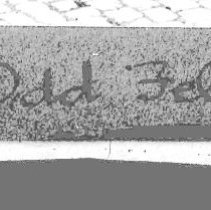 Image of detail lower margin of image