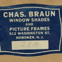 Image of label from framer