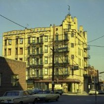 Image of Continental Hotel, 101 Hudson St., Hoboken, no date, circa late 1960's. - Negative, Roll Film