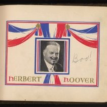 Image of pp [5] photo of President Herbert Hoover