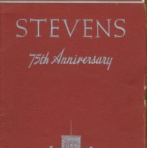 Image of Stevens 75th Anniversary - Booklet
