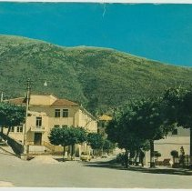 Image of Postcard with scenes of Monte San Giacomo, Italy related to feasts celebrating St. Ann & St. James the apostle, ca. 1960. - Postcard