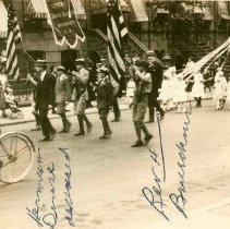 Image of B+W photo of Maypole parade, Hoboken, June 2, 1923. - Print, photographic