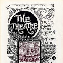 Image of History of Theatre, Vaudeville and Movies in Hoboken, The. Volume 2. - Pamphlet