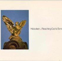 Image of Hoboken ...Reaching Out to Tomorrow. Community Development Agency, Hoboken, May 1975. - Booklet