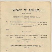 Image of pg [9] Events: Sr. 4-Oared Barge; Intermediate 4-Oared Barge