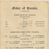 Image of pg [7] Events: Sr. Single Gig; Jr. 4-Oared Barge; Intermediate Sgl Gig