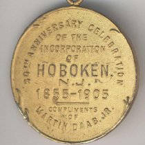 Image of reverse of medal