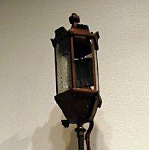 Image of lamp on display