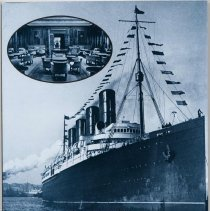 Image of The First Great Ocean Liners in Photographs. 193 Views, 1897-1927. - Book
